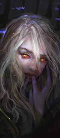99px.ru аватар Белокурая девушка с янтарными глазами, by Elvanlin