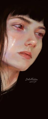 Аватар вконтакте Плачущая девушка, by Elvanlin