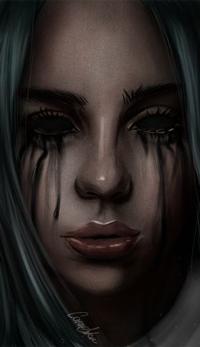 Аватар вконтакте Девушка с черными глазами, by CansuAkn