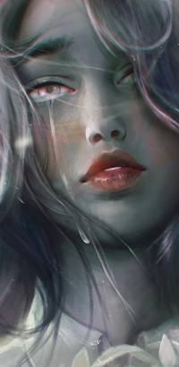 Аватар вконтакте Плачущая девушка, by zephy0