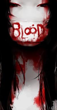 Аватар вконтакте Темноволосая девушка в маске (blood), by keerou