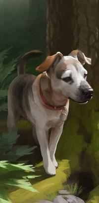 Аватар вконтакте Собака породы рассел терьер у девева, by LazyLapwing