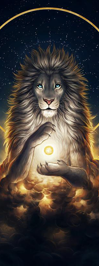 99px.ru аватар Хранитель души в виде льва, by JoJoesArt