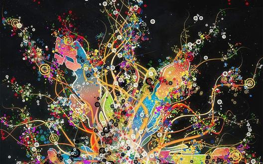 Обои Абстрактная фантазия-3