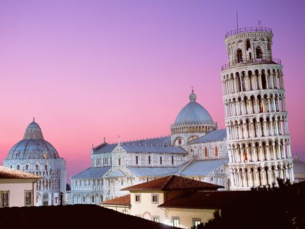 Обои Leaning Tower of Pisa, Italy