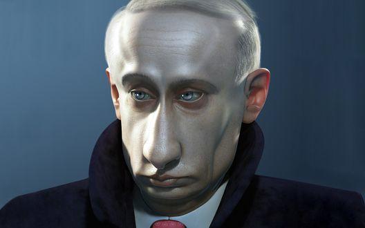 Обои В. В. Путин