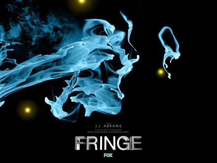 Обои Сериал Грань, Fringe, синий дым