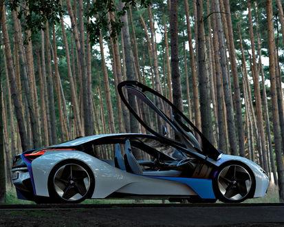 Обои BMW крутая машина