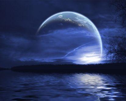 Обои Магия луны