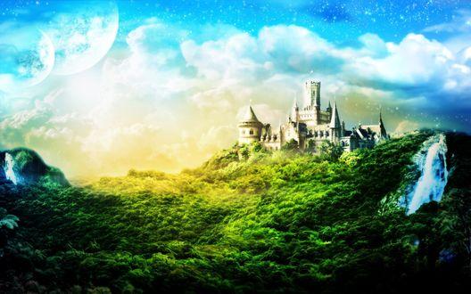 Обои Сказочный замок