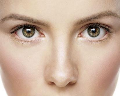 Обои Прекрасные карие глаза