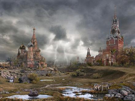 Обои Кремлёвская долина - осень (Мир после Апокалипсиса)