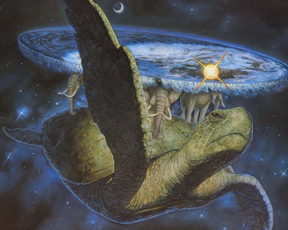Обои Облака, ночь, by 0l-Fox-l0, черепахи, Олень. Лисы foto 19