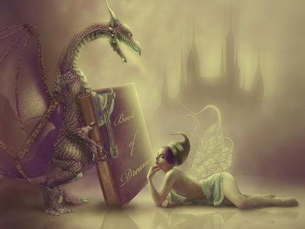 Обои Book of dream