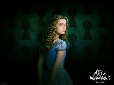 Обои Алиса в стране чудес