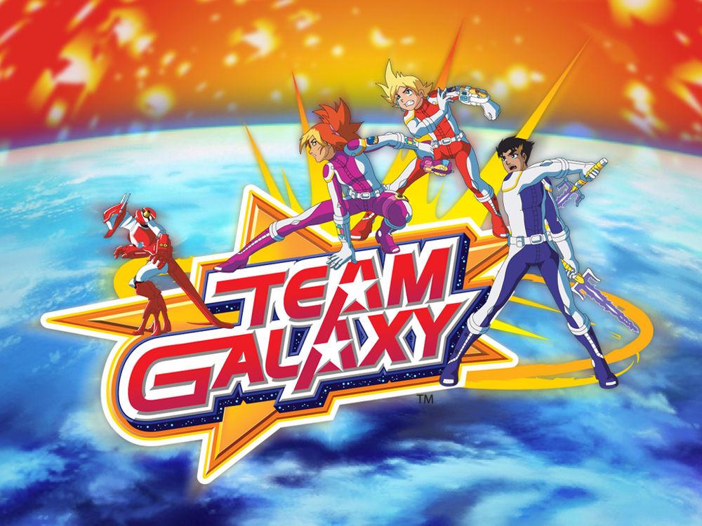 Обои для рабочего стола Team Galaxy