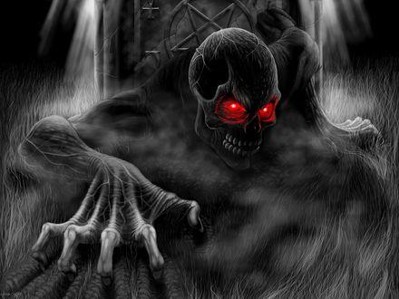 Обои Смерть, руки загребущие - Andrew Dobell