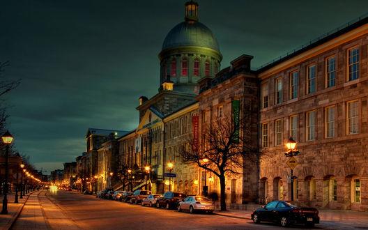 Обои Вечерний Европейский город
