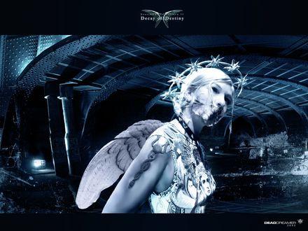 Обои Девушка без рта decay of destiny DEAD DREAMER 2002