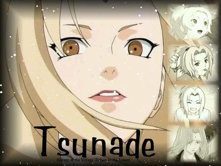 Обои Tsunade Hokage of the Village Hidden in the Leaves