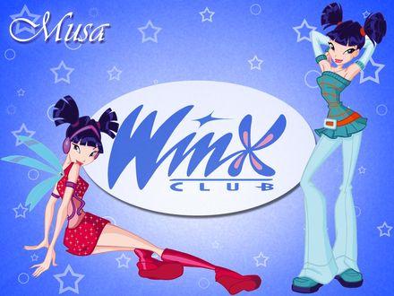 Обои Winx Club Musa (Повседневка и превращение)