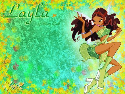 Обои Layla of Winx Club Winx Club