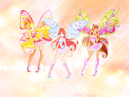 Обои believix believe in magic
