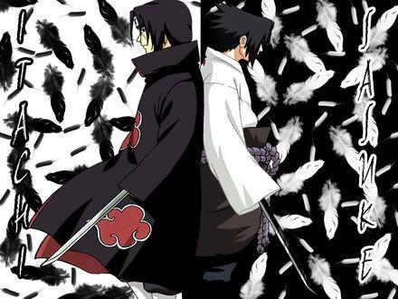 Обои Itachi & Sаsuke