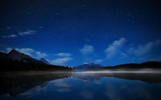 Обои Ночь в заливе