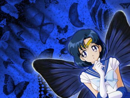 Обои Меркурий с крыльями