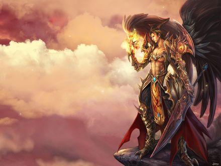 Обои Демон, который пришел, чтобы завоевать мир