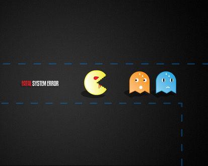 Обои Fatal system error