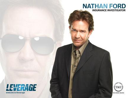 Обои Сериал Leverage, Nathan Ford, insurance investigator (www.tnt.tv/leverage) we know drama