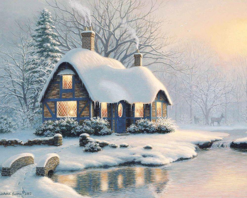 Новогодняя Сказка Картинки На Рабочий Стол