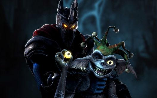 Обои Повелитель и его шут (Игра Overlord)