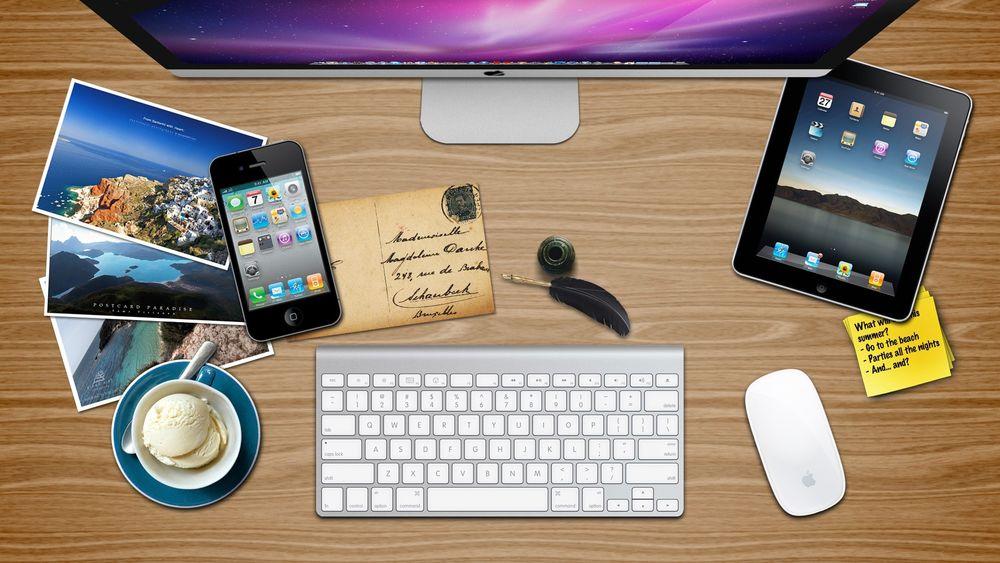 Как сделать рабочий стол на ipad