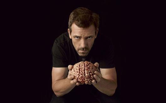Обои Доктор Хаус выносит мозг в сериале «House m.d.»