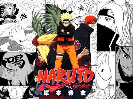 Обои Акатсуки и Наруто (Naruto)