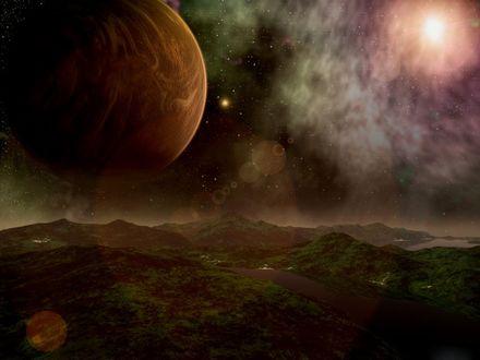 Обои Красивая планета