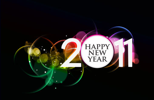 Обои 2011 Happy New Year
