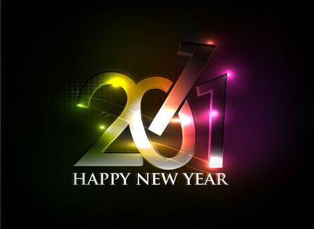 Обои Новый Год 2011