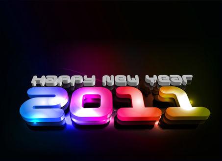 Обои 2011 С новый Годом!