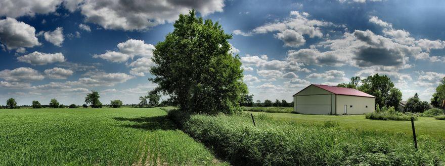 Обои Сельский пейзаж