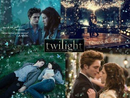 Обои Twilight, Edward & Bella