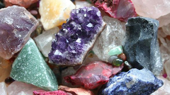 Обои Самородки, необработанные камни