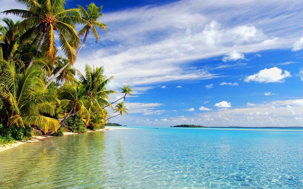 обои красивые острова на рабочий стол № 2533408 без смс