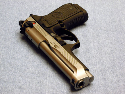 Обои Пистолет beretta U.S.A corp. ackk. no made in U.S.A