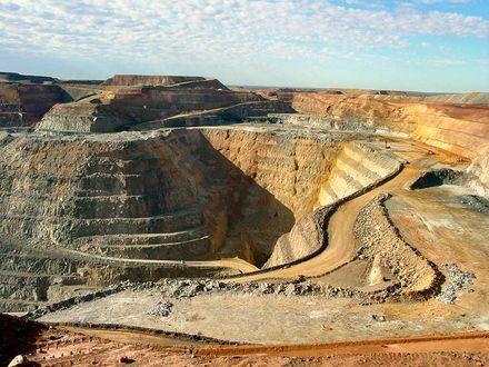 Обои Австралия... «Биг Пит» («Большая яма»), золотой рудник у Калгурли