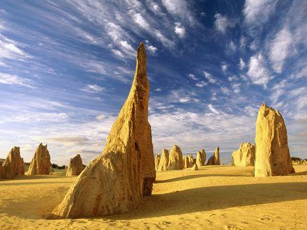 Обои Башни  Намбунг , Национальный Парк , Западная Австралия