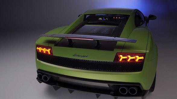 Обои Желтый Lamborghini